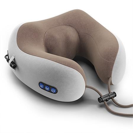 多功能 M型护颈 按摩枕 升级豪华揉捏款 解决你的颈部烦恼