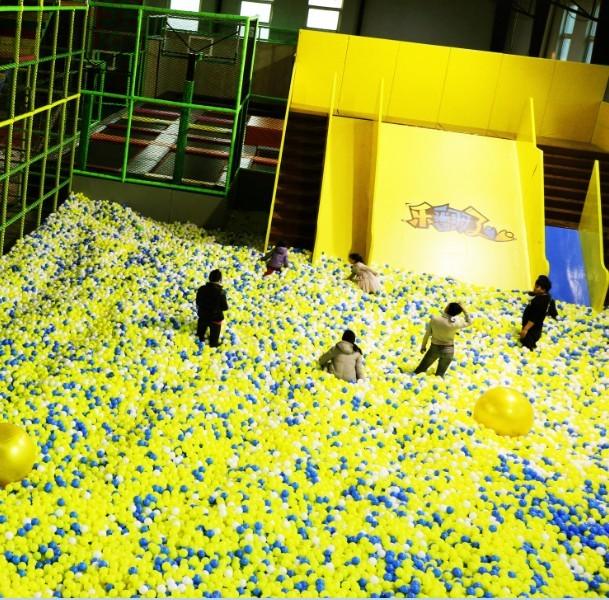 百万海洋球池