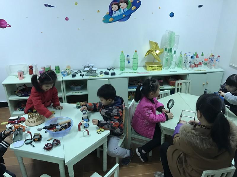 更精彩——怡江幼儿园区域互通游戏