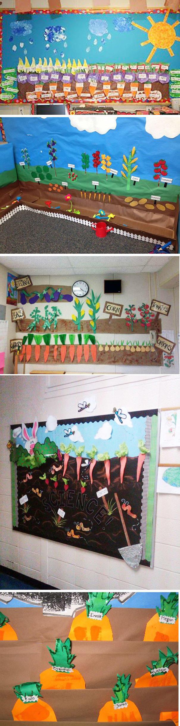 正文  【环境创设】幼儿园建构式课程中班(上)第四主题——香香的蔬菜