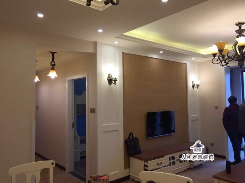 月光湖小清新-田园风格客厅图片2,成都装修公司,成都人和雅风装饰公司