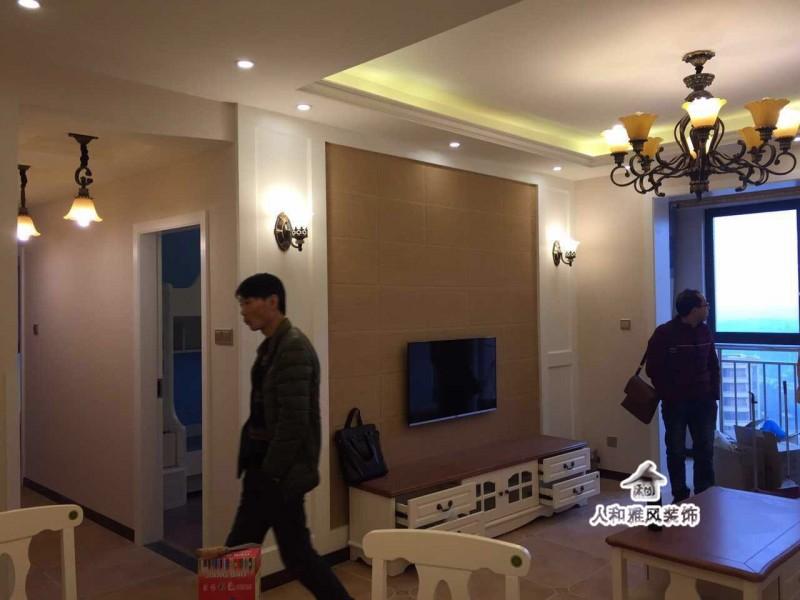 月光湖小清新-田园风格客厅图片1,成都装修公司,成都人和雅风装饰公司