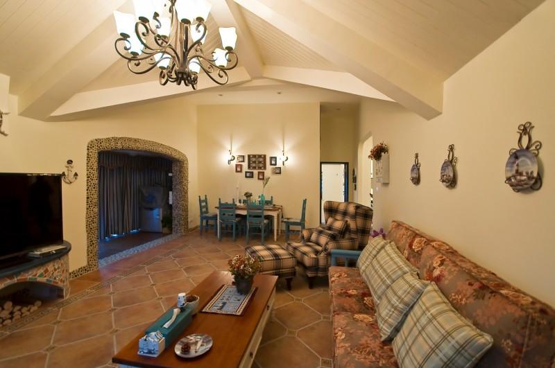 悠闲时光--地中海风格客厅图片1,成都装修公司,成都人和雅风装饰公司