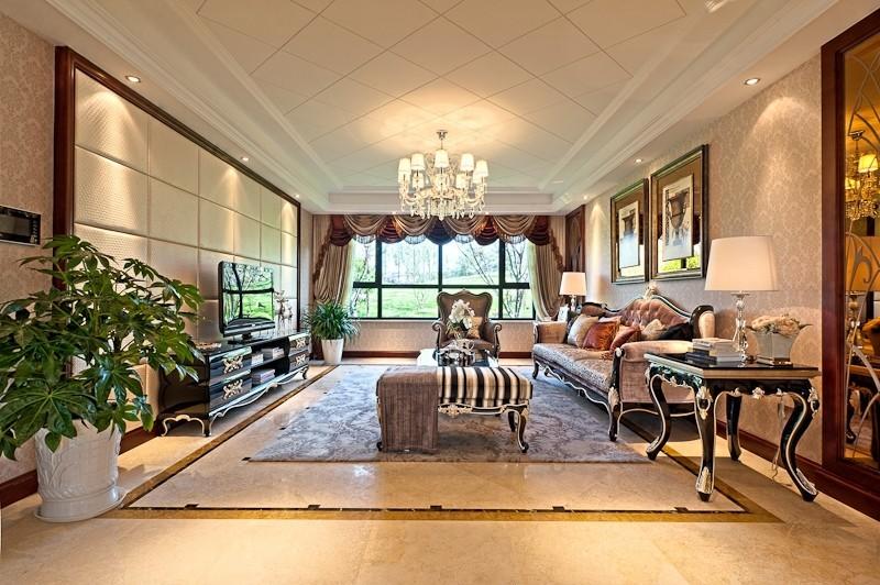 成都欧式风格装修效果图三室两厅120平多少钱?成都装修公司分享