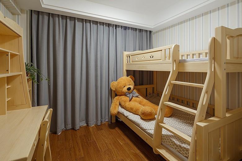 小美风~加州阳光是简美风格儿童房效果图,是由成都人和雅风装饰公司提供