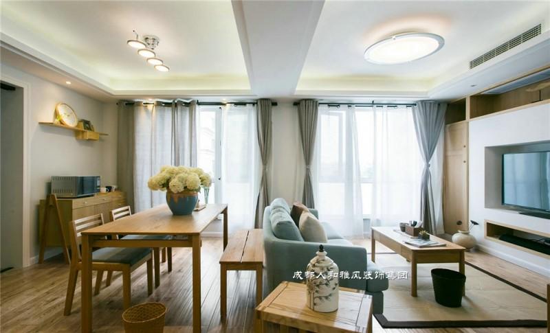 时光静好是现代风格客厅装修的图片,成都装修公司,成都人和雅风装饰公司