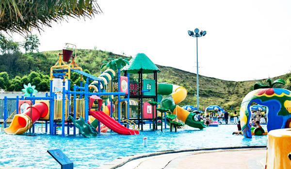 水上乐园设备-小型儿童水屋