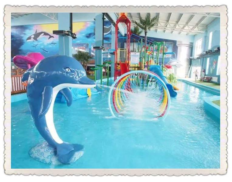 水上乐园设备-喷水海豚