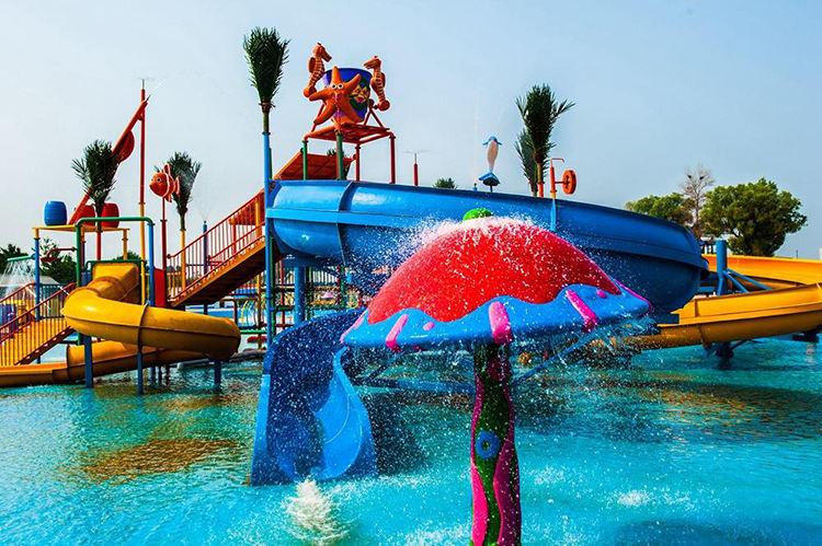水上乐园设备-水屋水寨