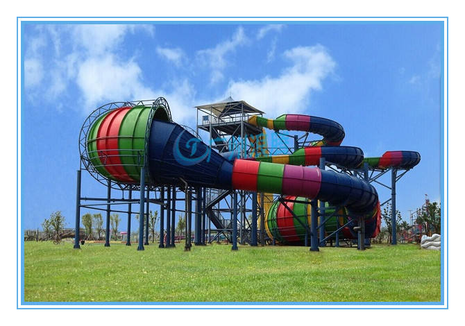 水上乐园设备-暴风谷滑梯