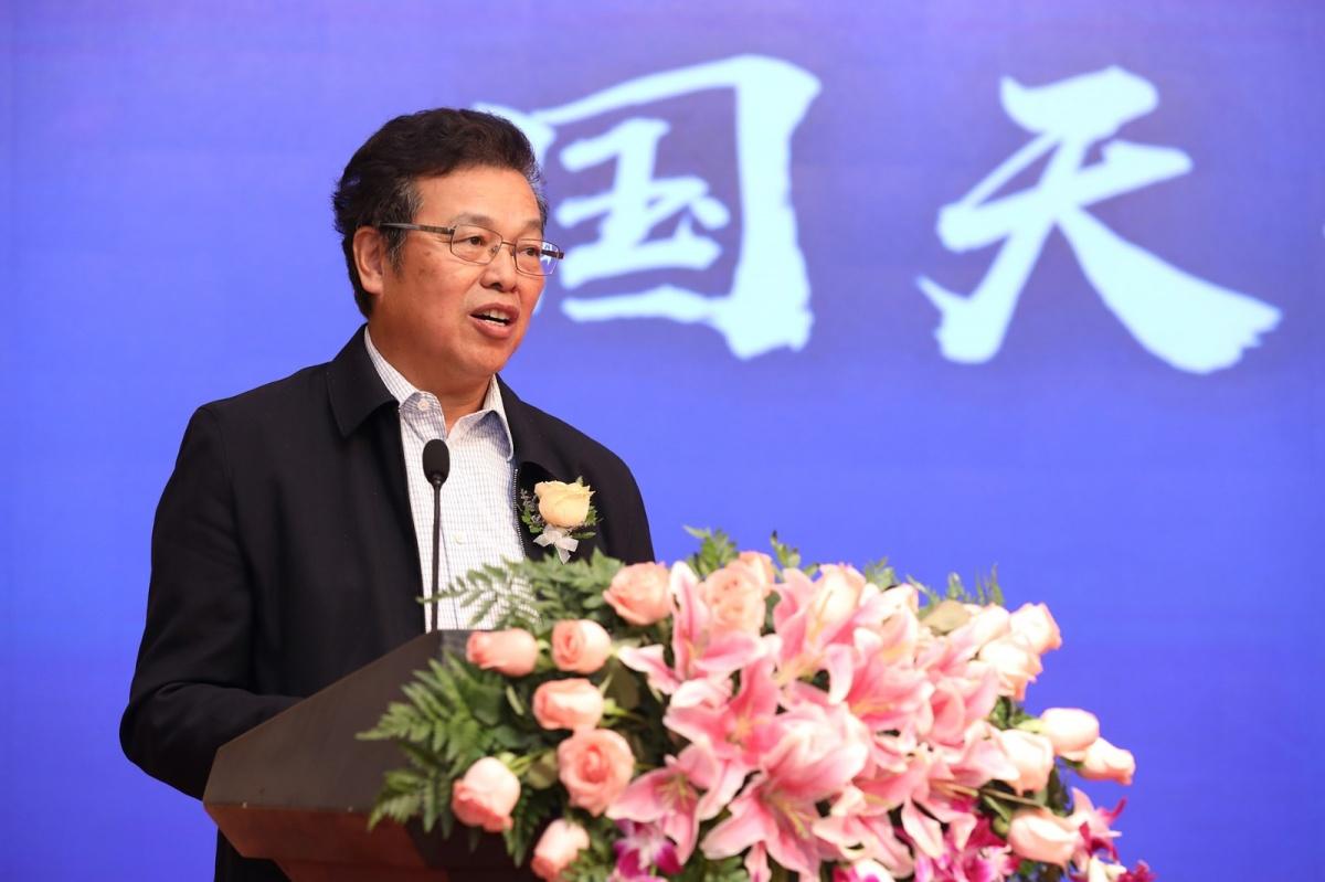 3中國物業管理協會沈建忠會長致辭.JPG