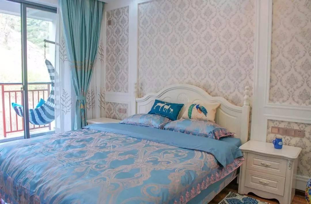 幼儿园区角卧室布置