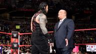保罗·海曼喊话罗曼·雷恩斯:你根本不值一提!《WWE RAW 2018.03.06》