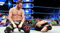 五重威胁赛预热快车道,萨米袭击好友!《WWE SD 2018.03.07》
