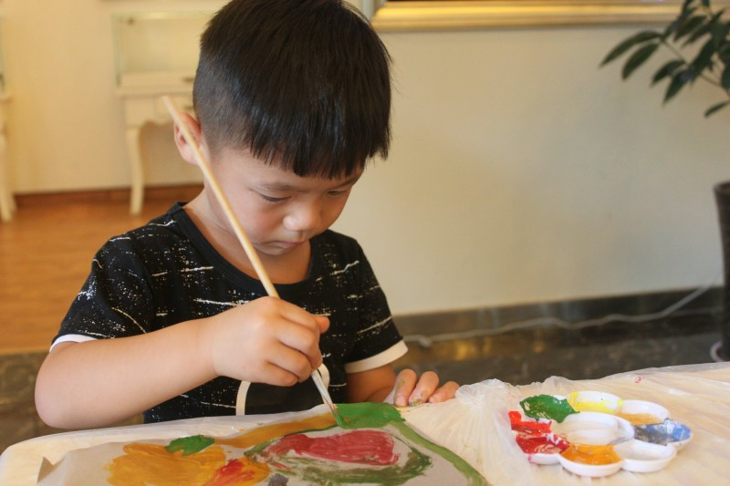 百瑞泓城7月趣味T恤DIY,快乐与你童在!