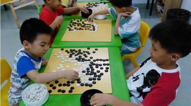 快乐学围棋_杭州 小孩子几岁学围棋合适