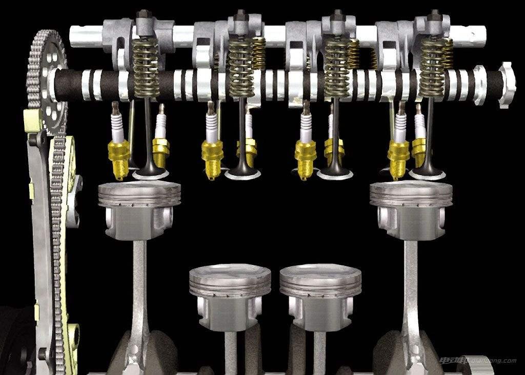凸轮机构运用于内燃机