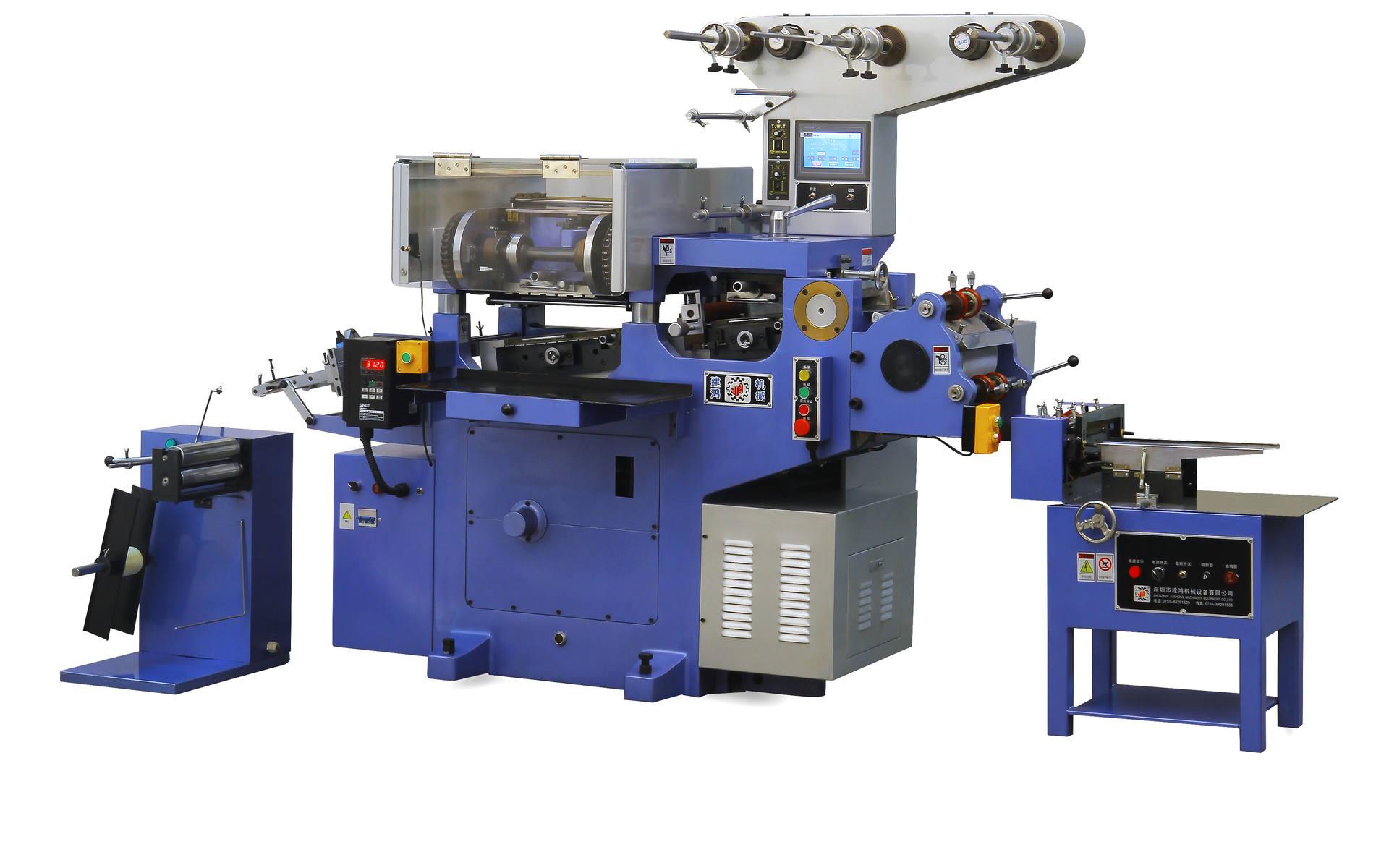 不干胶凸版商标印刷机
