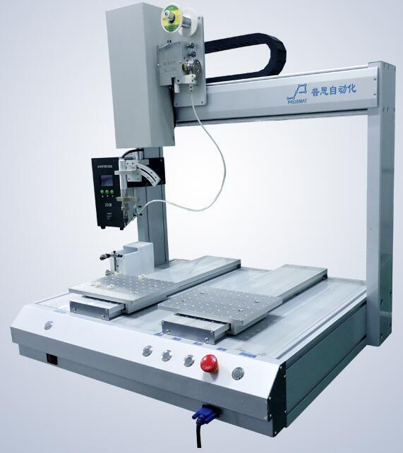 单头双平台自动焊锡机