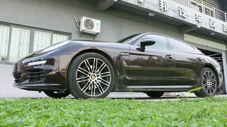 69 改装案例展示 69 南京 保时捷帕拉梅拉 原厂三阀门运动排气