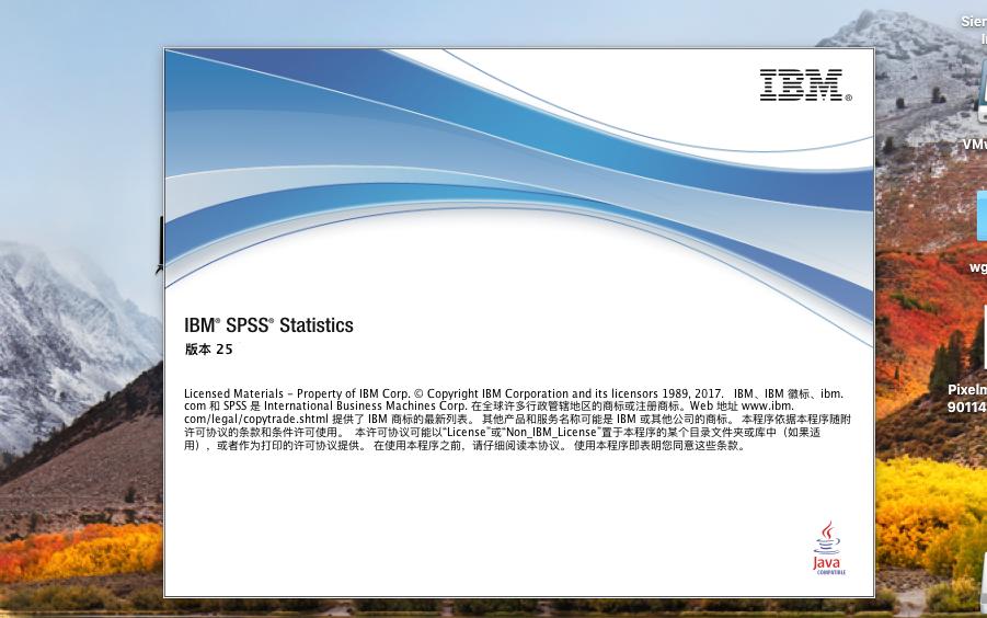 IBM SPSS Statistics 25 Mac/Win 官方原版+许可证完美激活 补丁