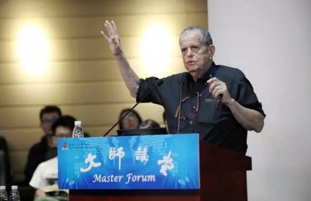 """诺贝尔化学奖得主阿龙J·切哈诺沃教授做客""""大师讲堂""""讲述个性化医学的革命.jpg"""