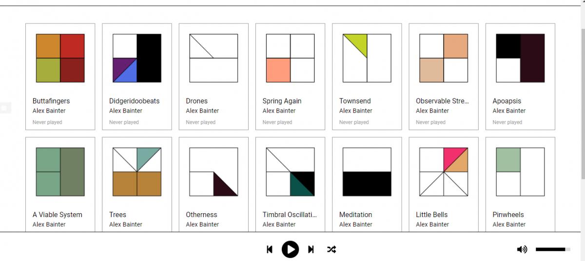 Generative.fm 播放永无止尽的环境音乐网站