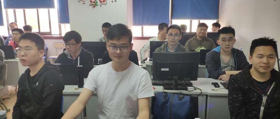 职坐标徐汇校区人工智能物联网开班典礼
