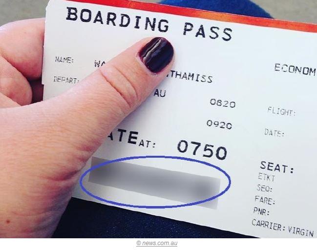 还在朋友圈微博乱晒登机牌?它能泄露的个人信息超出你