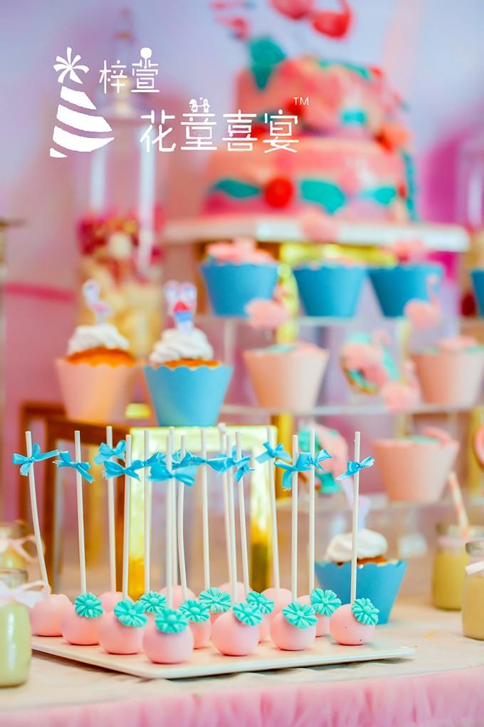 重庆宝宝宴-寻找粉红火烈鸟-重庆百日宴jpg