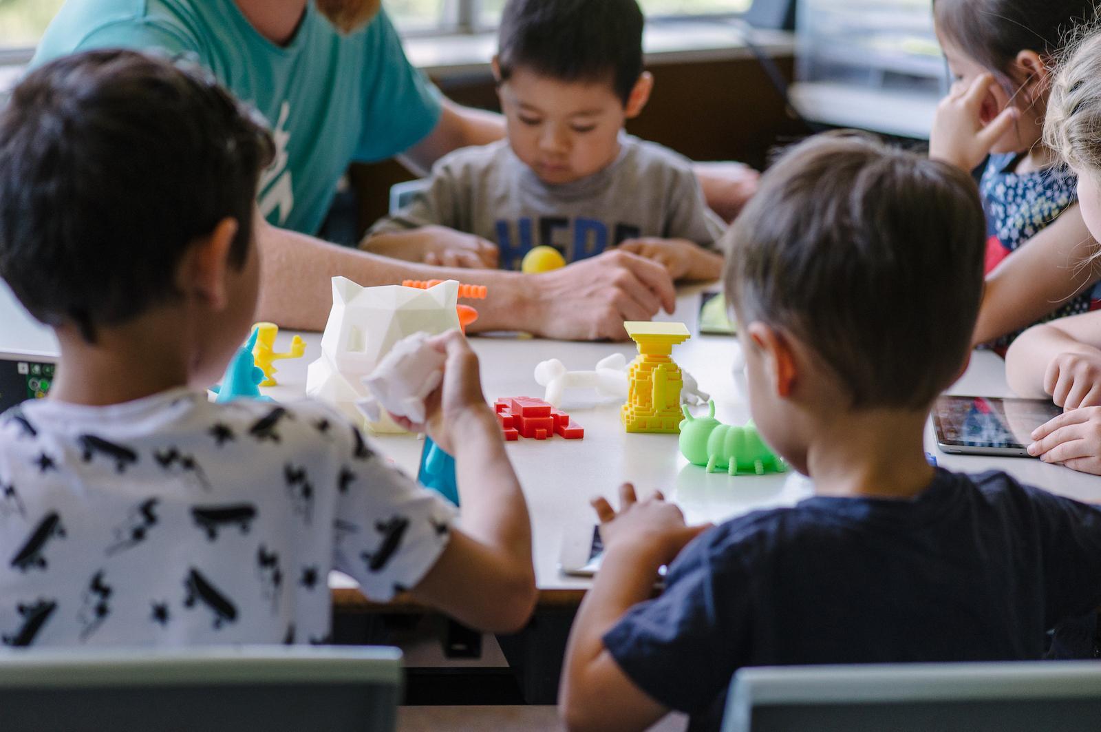 3D打印可以提高小学的设计思维能力