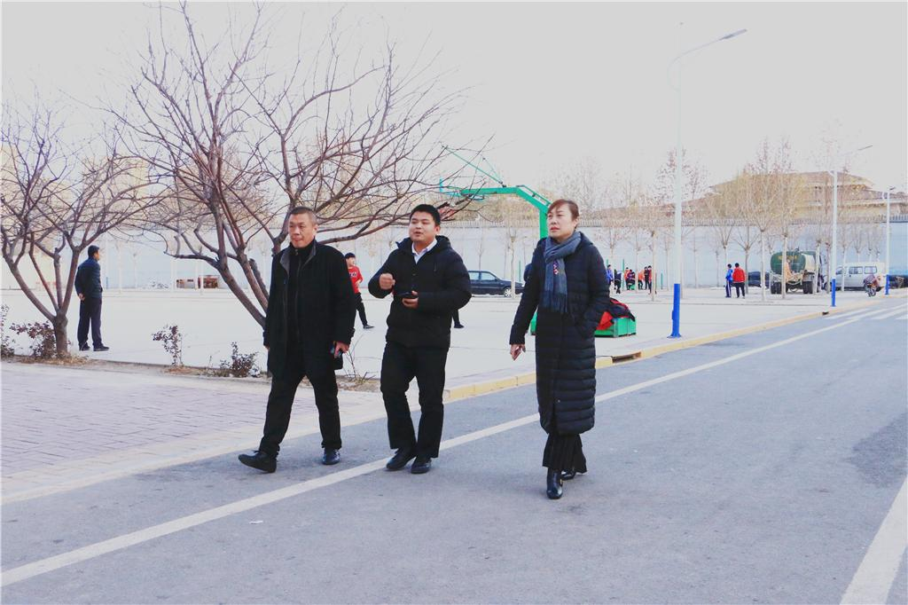 [香河要闻]北京商鲲教育集团执行总裁伊泓非视察我校并检查各项工作