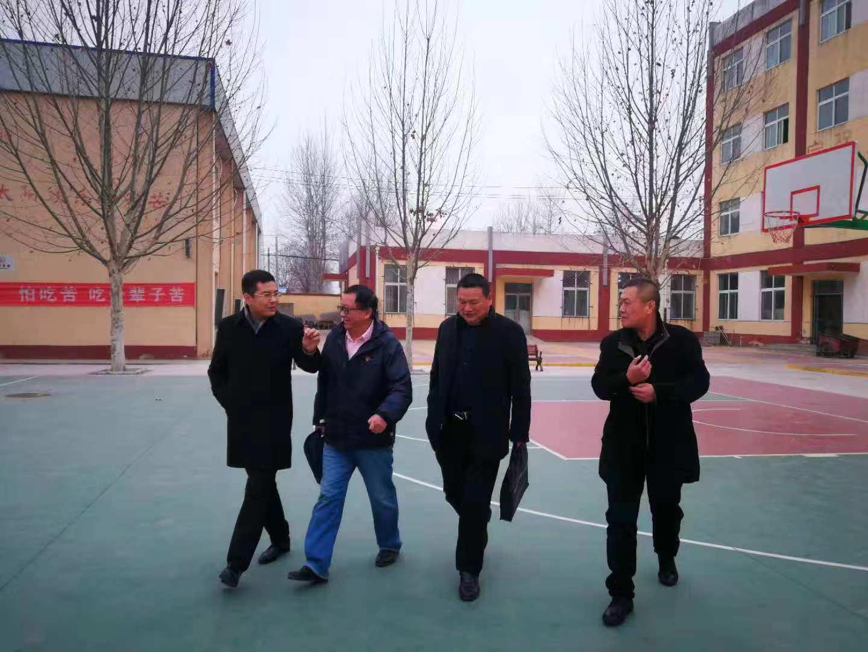 [香河要闻]北京商鲲教育集团后勤保卫处艾立双督导莅临我校督查指导