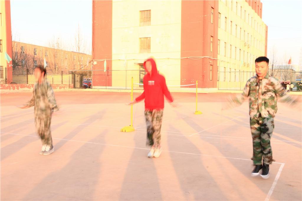 [校园活动]繁荣校园文化 丰富校园生活 — 北京商鲲教育学校香河校区举办跳绳比赛