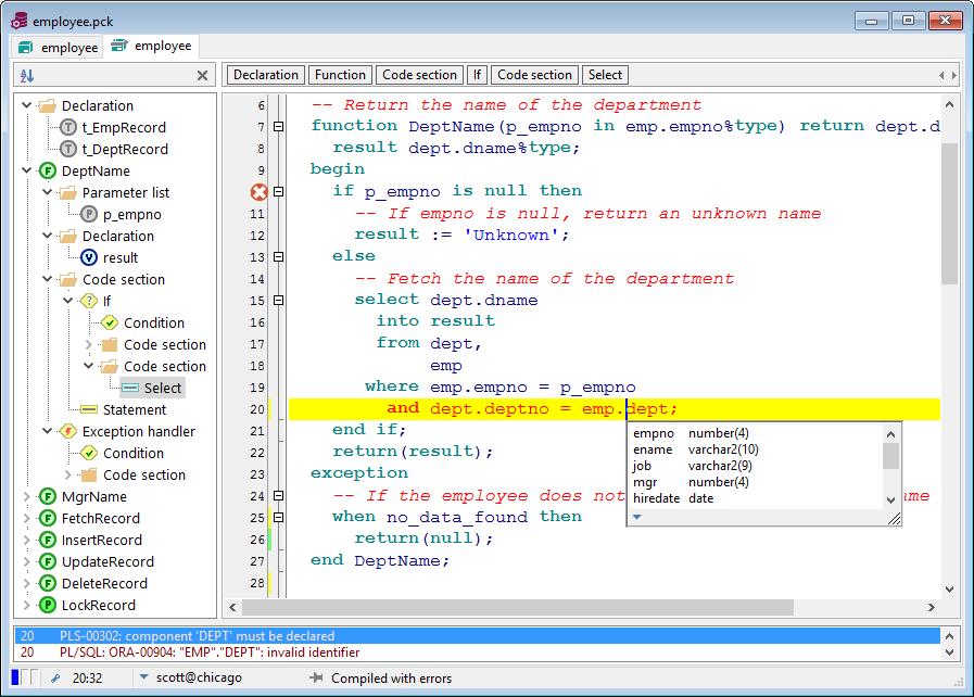 PL / SQL Developer _files comparison_Files Comparison Database _COGITO  SOFTWARE CO.,LTD English Website
