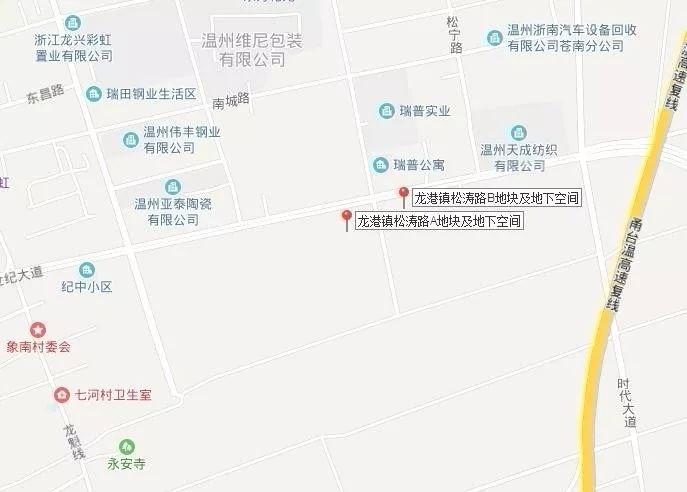 """溢价17%!""""新鸿""""竞得苍南龙港一宗百亩商住地块"""