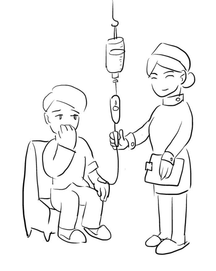 2.护士开通静脉通路.jpg