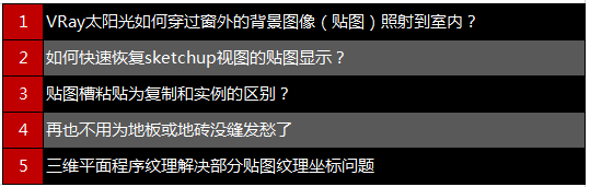 01 VRay公开课问题列表.png