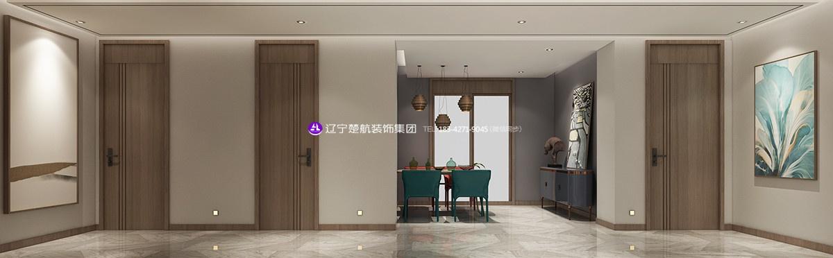 盘锦楚航装饰巴塞罗那三期133平现代简约装修效果图 (5).jpg
