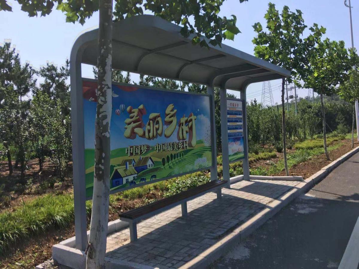 沧州公交候车亭,公交站台