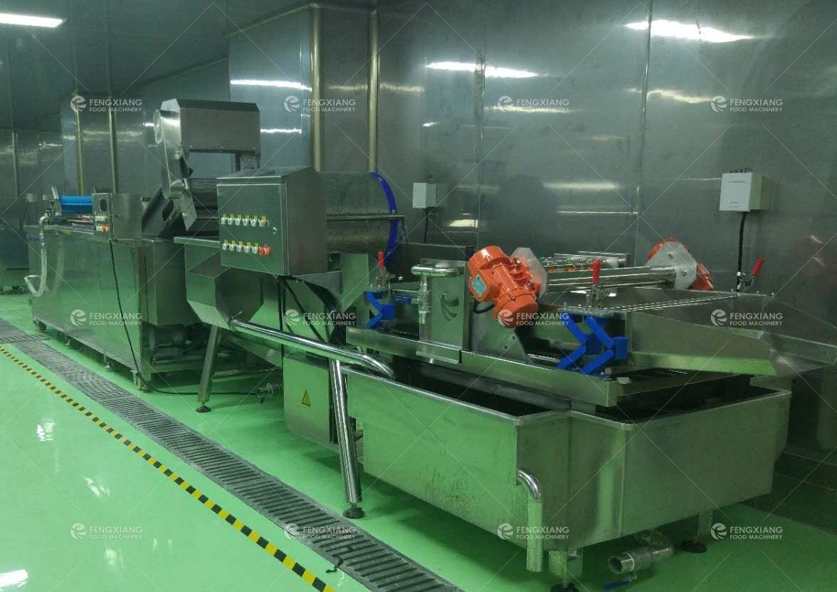凤翔餐饮设备参与广东某大型配餐中心的建设果蔬清洗生产线.jpg