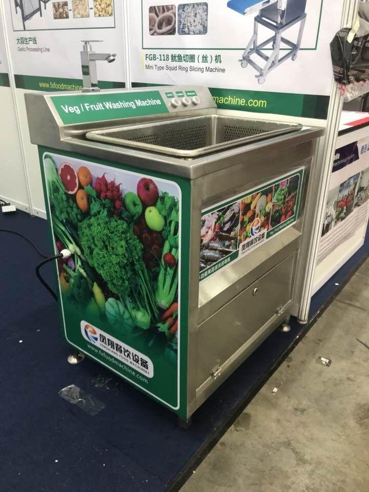 凤翔果蔬清洗专家,WASC-10小型果蔬清洗机,功能强大,体积小巧。