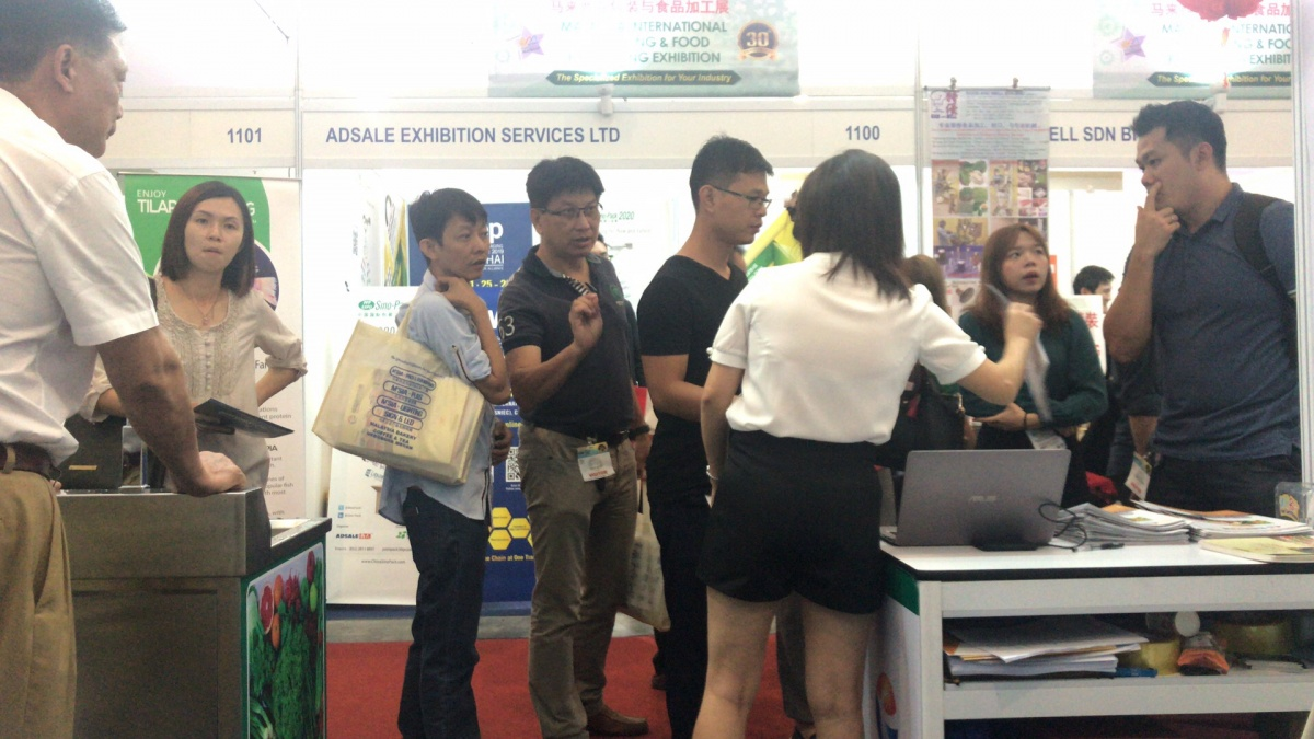 凤翔马来西亚展位大受欢迎