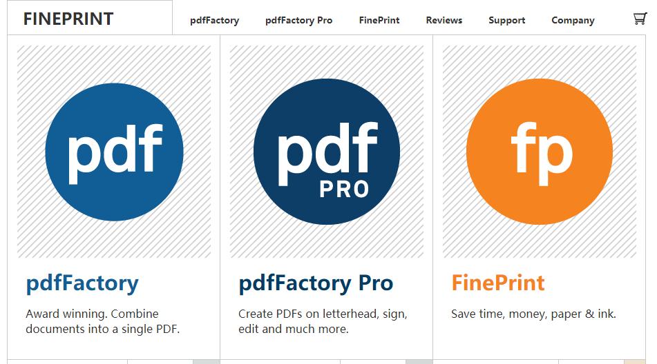 虚拟打印机 FinePrint