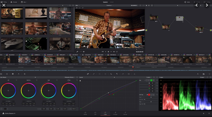 达芬奇调色 DaVinci Resolve Studio  中文Crack版