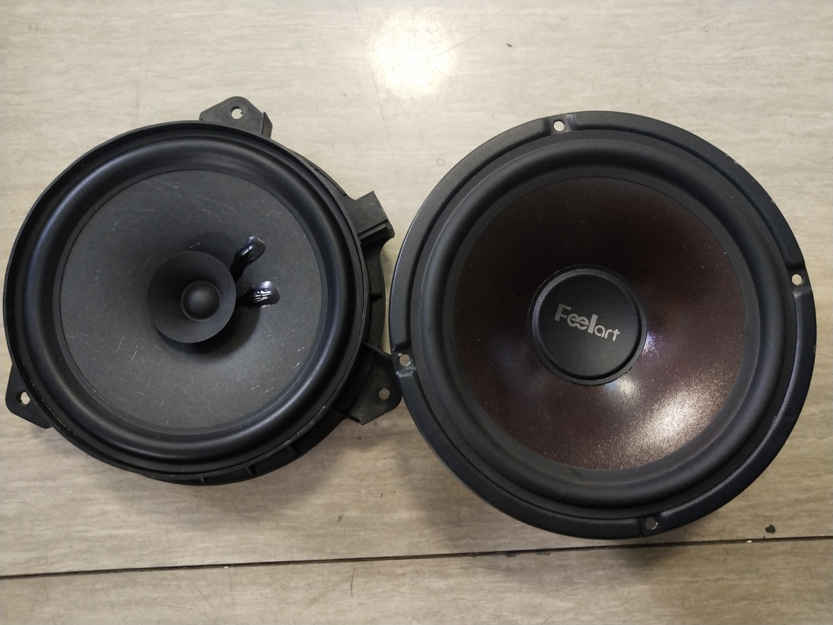 昆明 北汽智道汽车音响改装芬朗SQ-6.5E,宝丰隔音 车音界施工