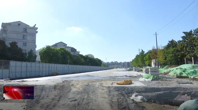 春风北路将于8月底前完成沥青摊铺