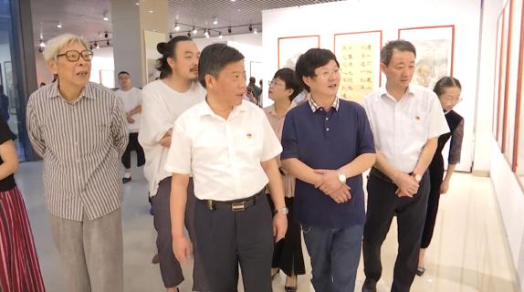 金坛区举办庆祝新中国成立七十周年书画精品展