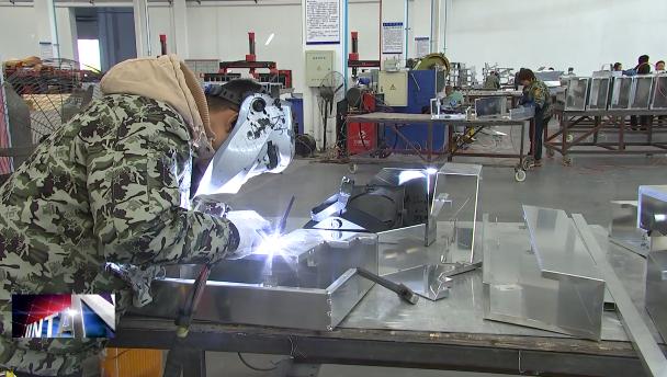 创新2019 冲刺四季度 薛埠镇特朗镁铝单板:全面忙生产  订单排到明年5月