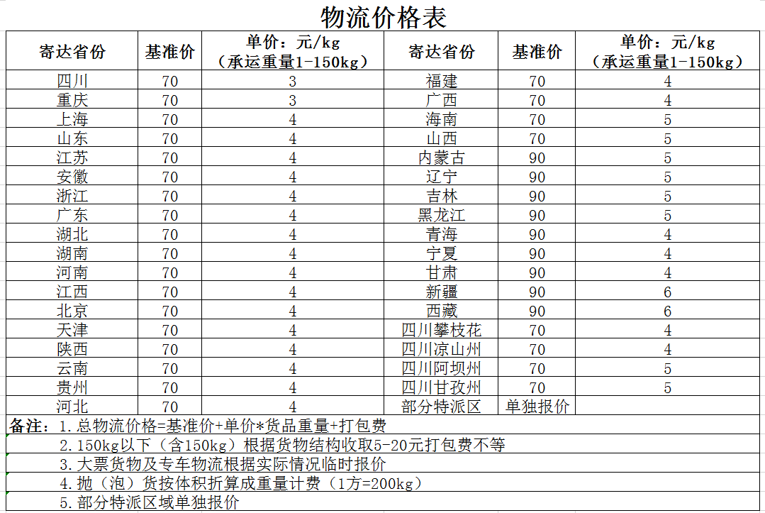 物流价格表.png